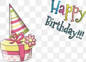 Birthday Pattern Vector - Greeting Card Birthday Elephant Illustration PNG