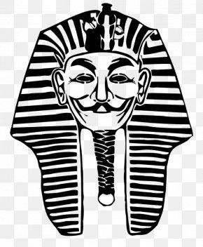 Pharaoh - Tutankhamun's Mask Ancient Egypt KV62 Pharaoh PNG