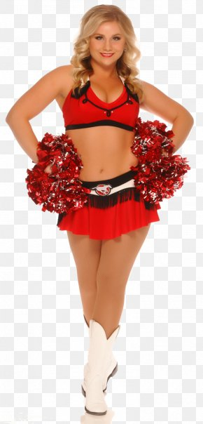 Cheerleader Picture - Calgary Stampeders Canadian Football League BC Lions Grey Cup Cheerleading PNG