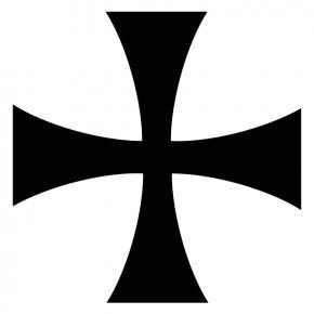 Iron Cross Cliparts - Crusades Knights Templar Teutonic Knights Assassins Creed PNG