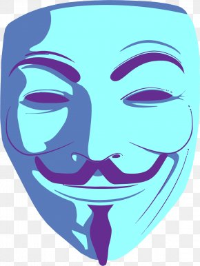Anonymous - Guy Fawkes Mask Anonymous Clip Art PNG