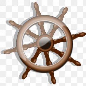 Ship - Ship's Wheel Rudder Clip Art PNG