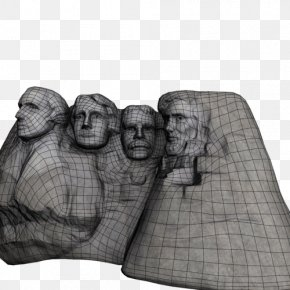 Mount Rushmore - Low Poly 3D Computer Graphics Wavefront .obj File Cinema 4D CGTrader PNG