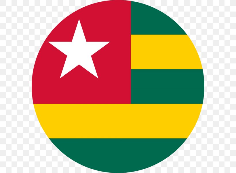 Flag Of Togo Flags Of The World National Flag, PNG, 600x600px, Togo, Area, Country, Flag, Flag Of Canada Download Free