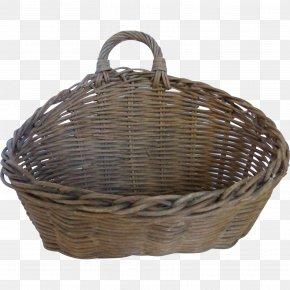 Wicker Basket - Resin Wicker Basket Furniture Shelf PNG