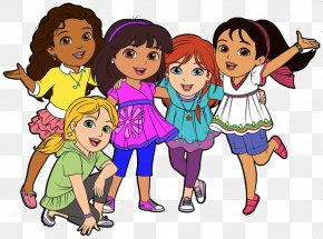 Animated Friends Cliparts - Dora And Friends: Into The City! Free Content Clip Art PNG