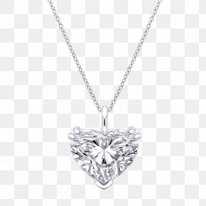 Necklace - Locket Necklace Colored Gold Diamond Carat PNG