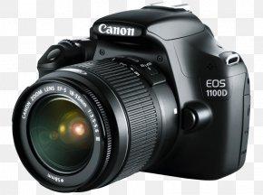 Camera - Digital SLR Canon EOS 1100D Canon EF 75–300mm Lens Single-lens Reflex Camera Fisheye Lens PNG