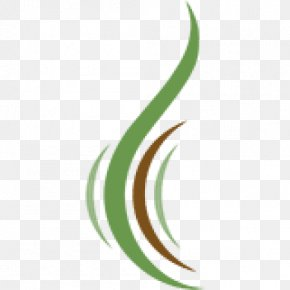 Leaf - Leaf Crescent Logo Plant Stem Line PNG