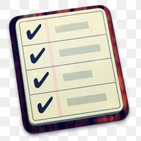 Notebook - Reminders IOS MacOS Application Software Icon PNG