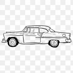 Automotive Artwork - Vintage Car Download PNG