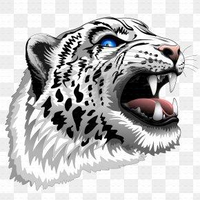 Leopard - Tiger Snow Leopard African Leopard Roar PNG