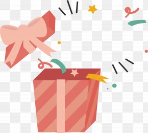 Open Gift Box - Gift Jack-in-the-box Library PNG