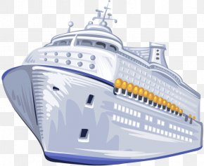 Large Ships - Cruise Ship Naval Architecture Yacht PNG