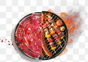 Fiery Fiery Charcoal Barbecue - Sausage Barbecue Korean Cuisine Grilling PNG