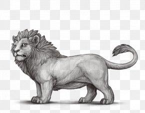 Lion - Lion Roar Big Cat Dwarfism PNG