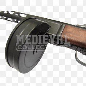 Machine Gun - Trigger PPSh-41 Second World War Submachine Gun PNG