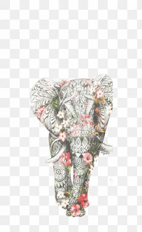 Painted Elephant - IPhone 7 Plus IPhone 6 Plus IPhone 6S IPhone 8 Plus PNG
