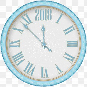2018 New Year Snowy Clock PNG Clip Art - Times Square Ball Drop New Year's Eve New Year's Day PNG