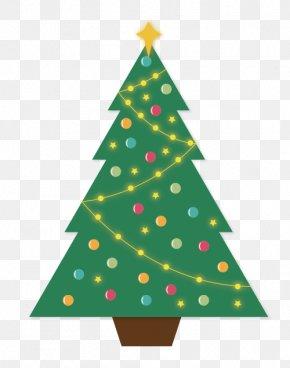 Christmas Tree - Christmas Tree Illustration PNG