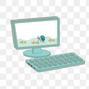 Computer - Computer Keyboard Desktop Computer Computer Monitor Learning PNG