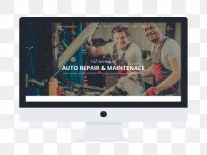 Car Fix - Car Dealership Automobile Repair Shop Auto Mechanic Responsive Web Design PNG