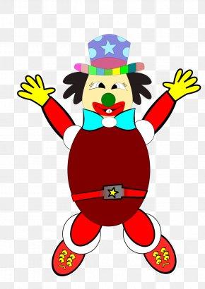 Clown - It Clown Circus Clip Art PNG