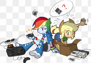 My Little Pony - Rainbow Dash Pinkie Pie Applejack My Little Pony: Equestria Girls Fluttershy PNG