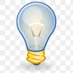 Light Bulb Clipart - Incandescent Light Bulb Lighting Clip Art PNG