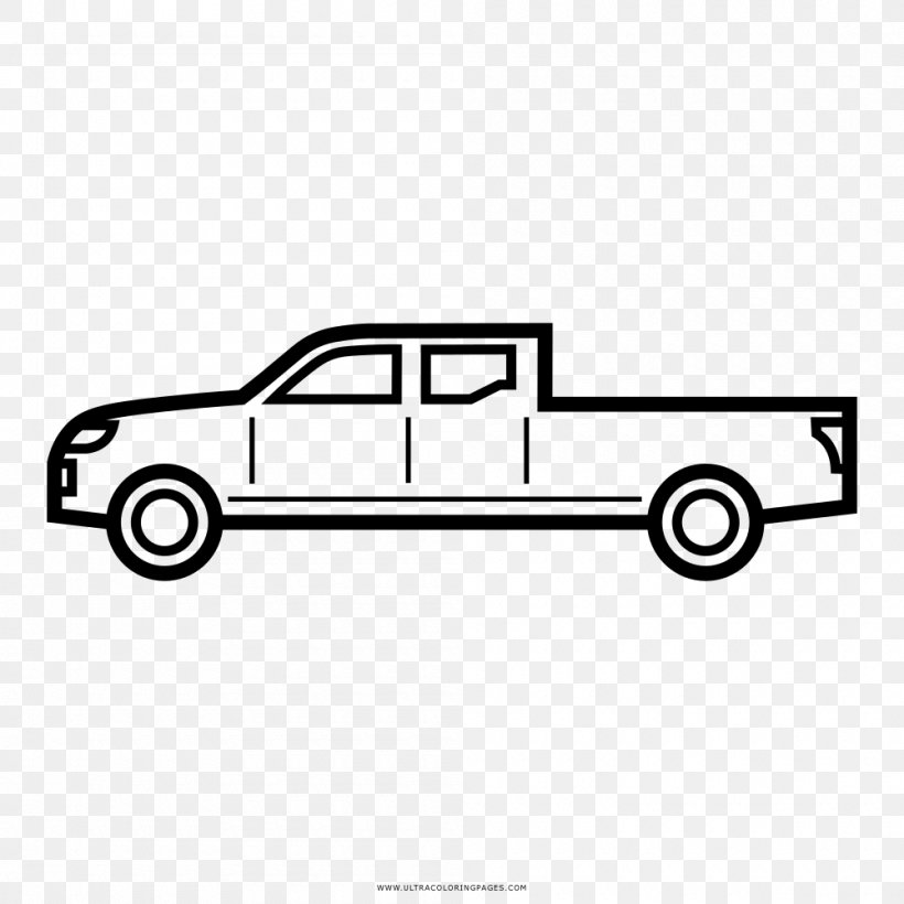 Car Coloring Book Line Art Drawing Truck, PNG, 1000x1000px ...