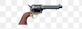 Weapon - A. Uberti, Srl. Colt Single Action Army .45 Colt Revolver Firearm PNG