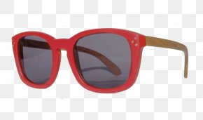 Pigeons Under The Sun - Goggles Sunglasses Light Red PNG