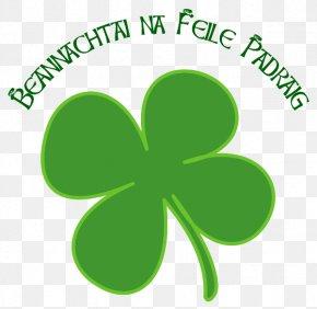 ST PATRICKS DAY - Ireland Shamrock Saint Patrick's Day Four-leaf Clover Clip Art PNG