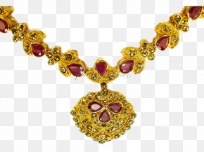 Gold Jewelry File - Jewellery Necklace Gold PNG
