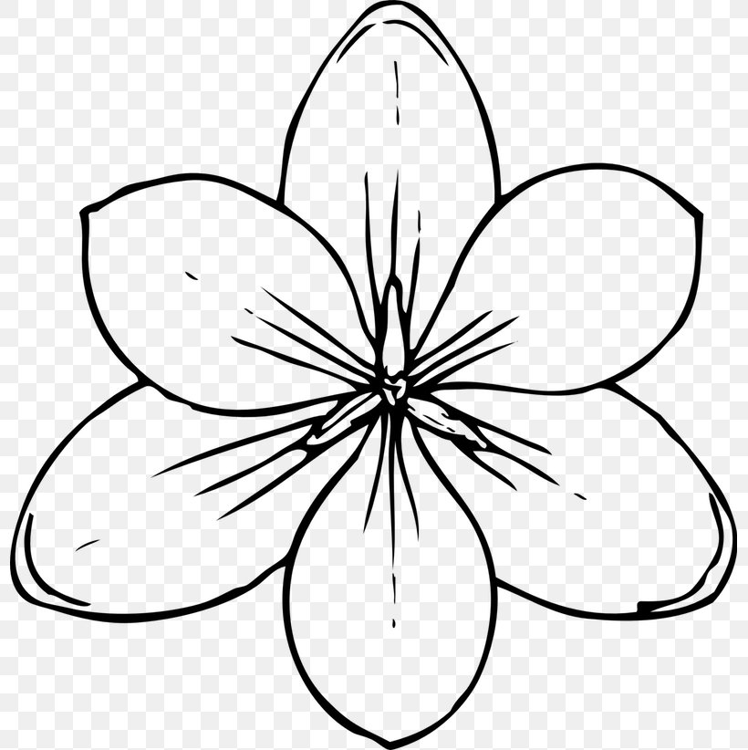 Flowers Coloring Book For Kids Flowers Coloring Book For ...