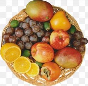 Fruits Basket - Fruit Food Auglis Vegetable Persimmon PNG