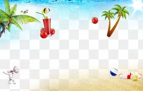 Taobao Beach Material - Summer Poster PNG