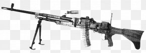 M60 Machine Gun - Trigger Vickers Machine Gun Firearm Maxim Gun PNG