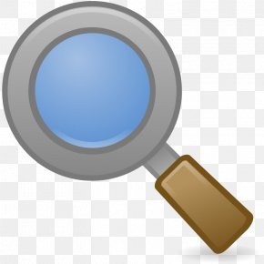 Clip On Magnifying Glass - Favicon Clip Art PNG