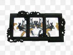 Black Frame - Picture Frame Designer Villa PNG