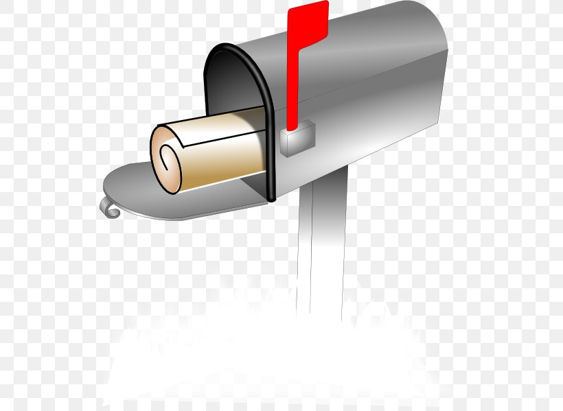 Post Box Mail Letter Box Clip Art, PNG, 546x599px, Post Box, Cylinder, Email, Envelope, Hardware Download Free