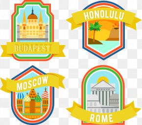 Vector City Stickers - Budapest Euclidean Vector Download Icon PNG