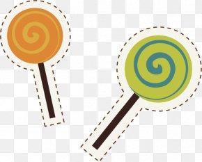 Lollipop Sticker - Post-it Note Sticker Lollipop Stationery PNG