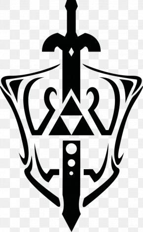 Master Sword Cliparts - The Legend Of Zelda: The Wind Waker Triforce Master Sword Clip Art PNG