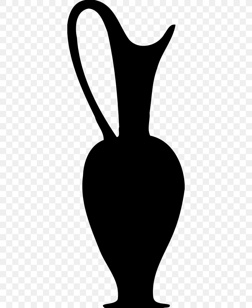 Jug Black And White Silhouette Pitcher Clip Art Png 382x1000px Jug Artwork Black And White Ceramic