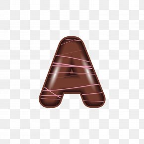 The Chocolate Alphabet A - Letter Alphabet Chocolate PNG