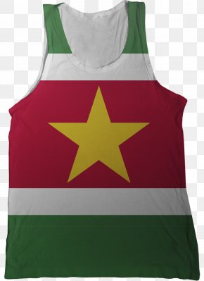 Flag - Flag Of Suriname National Flag Flags Of The World PNG