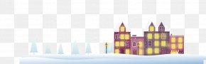 Villa Thick Snow Snow - Snow Vecteur PNG