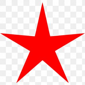 Red Star - Light Paper Star Red Green PNG