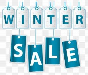 Winter Sale Transparent Clip Art Image - Sales Clip Art PNG